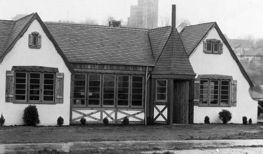 The Hitching Post tavern in 1933. Seattle Public Library special collections librarian Jeannette Voiland helped determine the tavern was at 1135 Rainier Ave. S. through 1964. In 1965, the name changes to the Chalet Tavern. Photo: P-I File