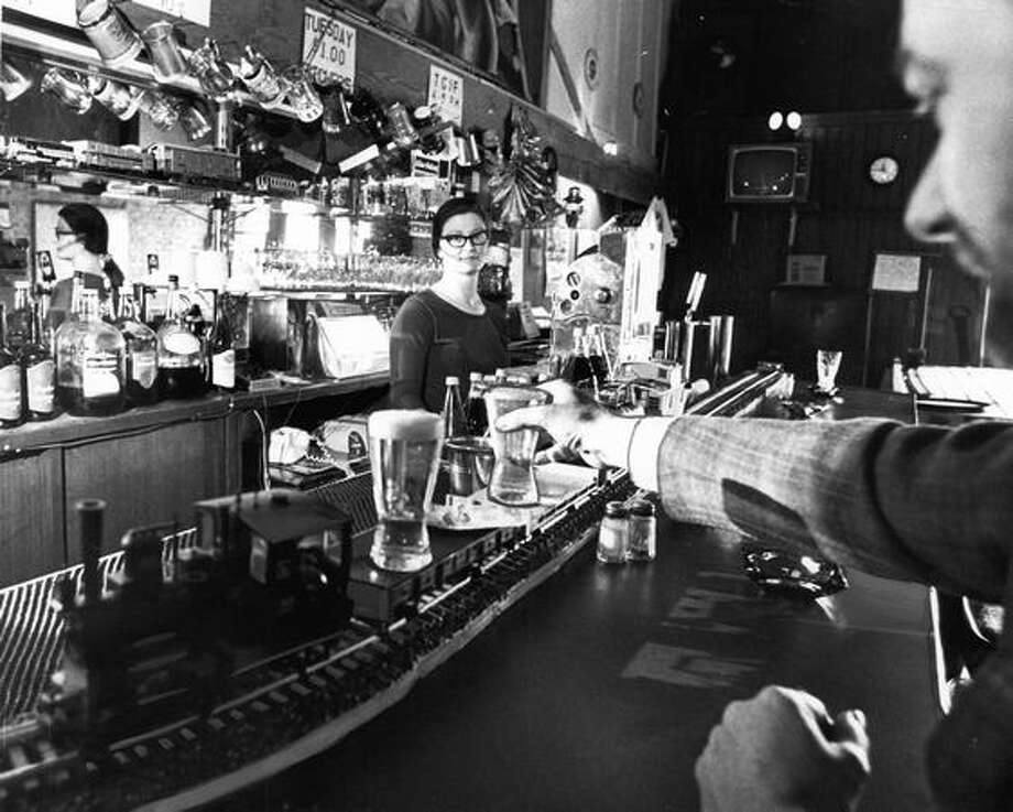 Beer at the Iron Horse, 1973. Photo: P-I File