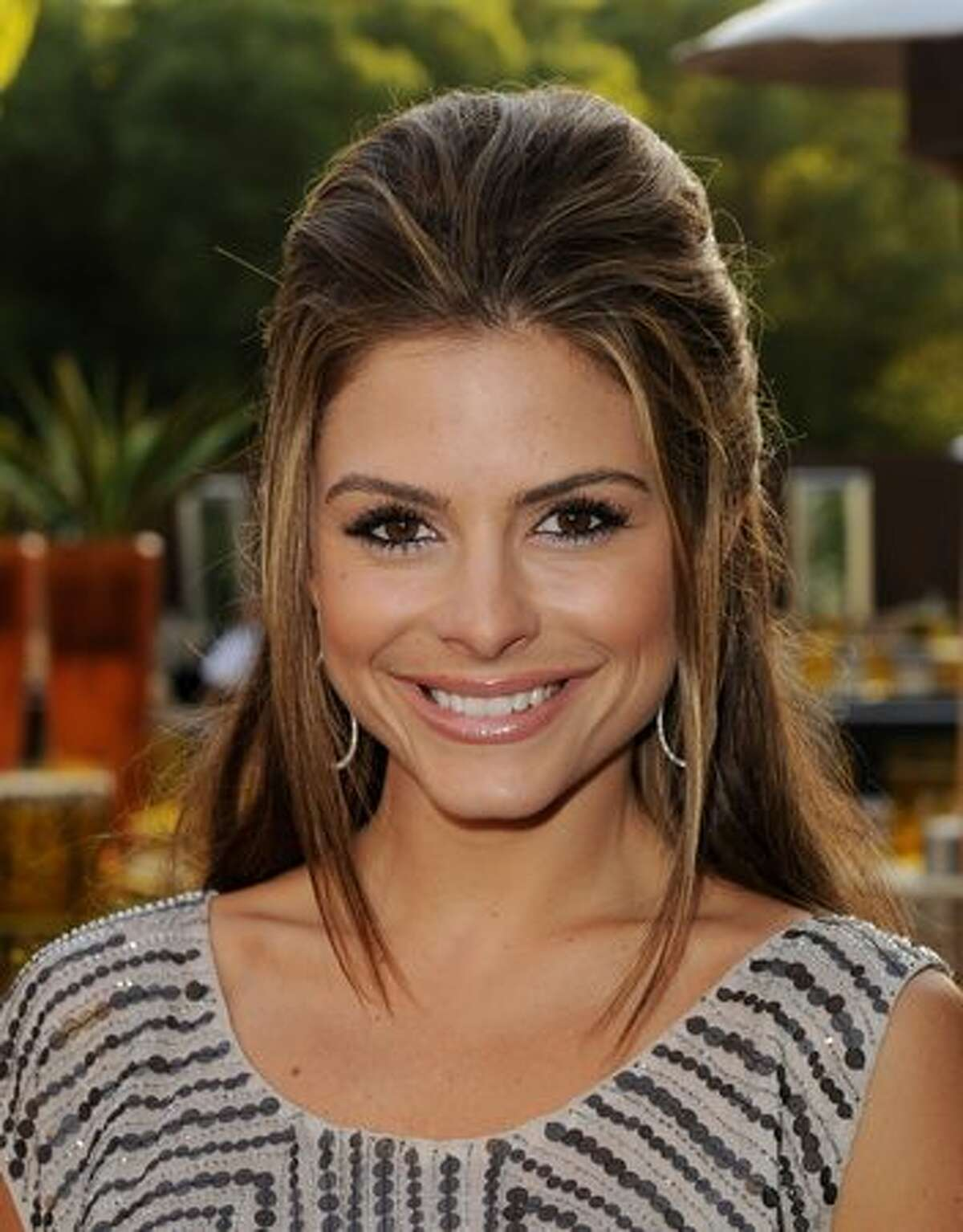 LOS ANGELES, CA - JUNE 16: Actress Maria Menounos arrives at the premiere of HBO's