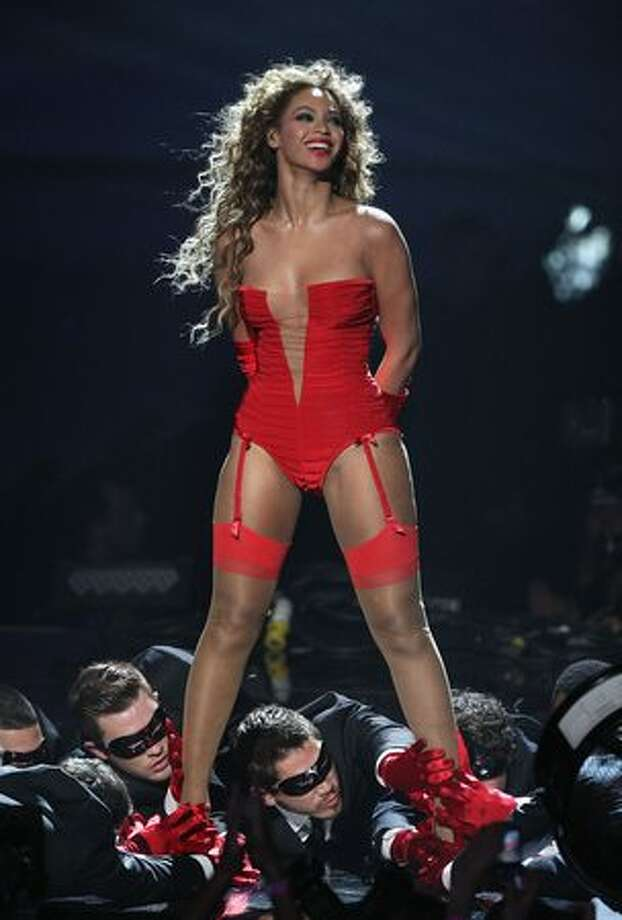 Beyonce performs during the 2009 MTV Europe Music Awards held at the O2 Arena on Nov. 5 in Berlin, Germany. Photo: Getty Images