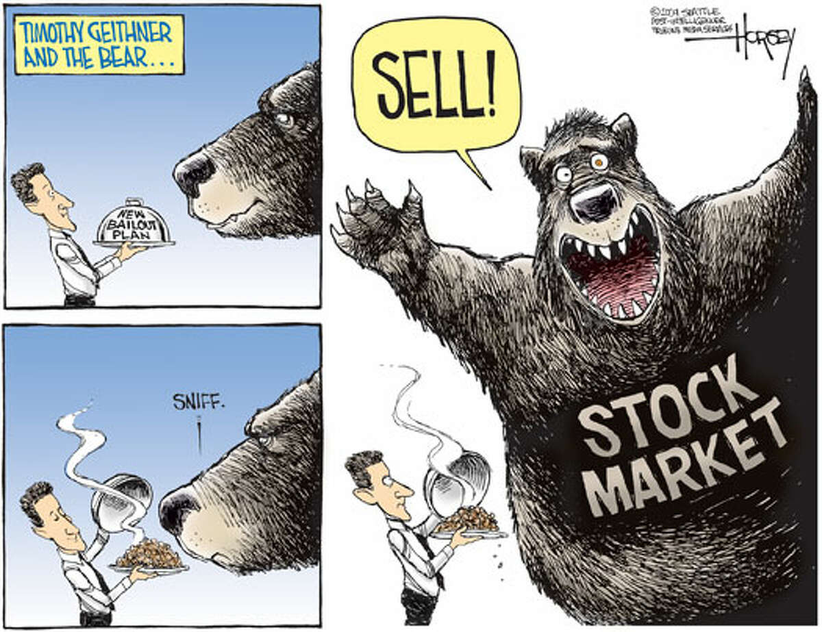 Timothy Geithner and the bear