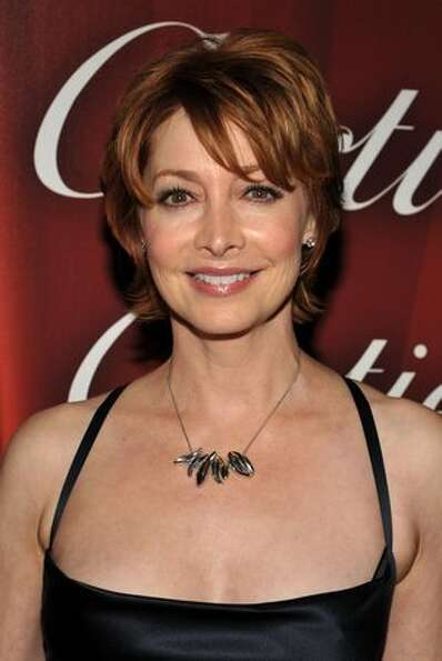 Actress Sharon Lawrence arrives.
