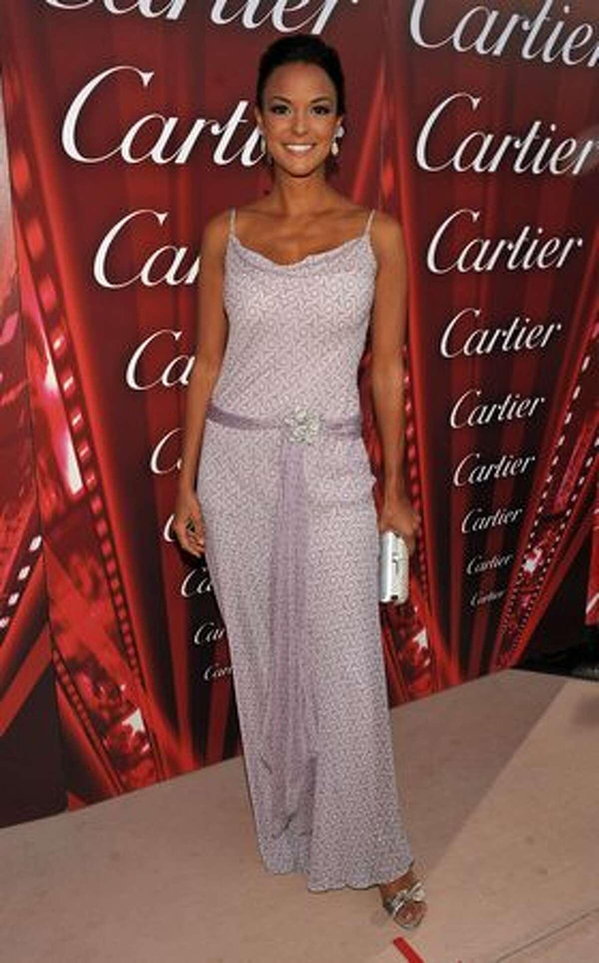 Actress Eva La Rue arrives.