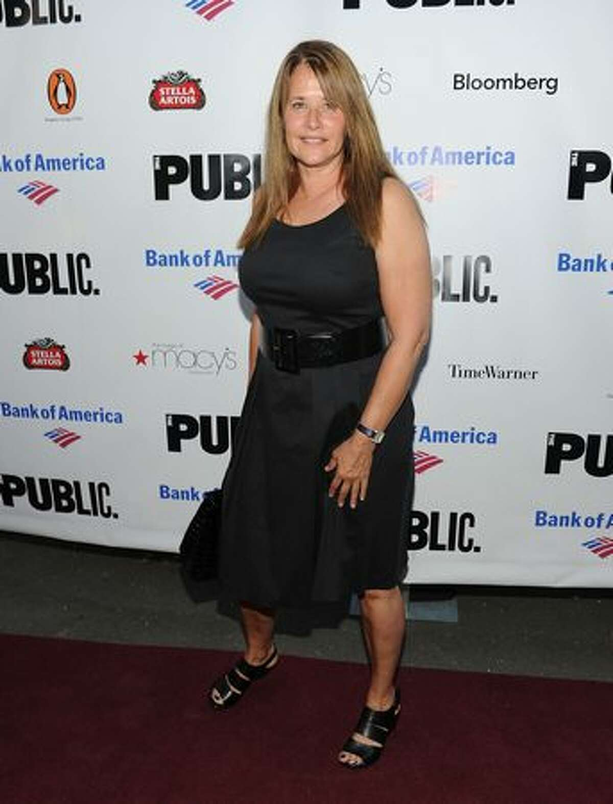 Actress Lorraine Bracco attends the 2010 Public Theater Gala at the Delacorte Theater.