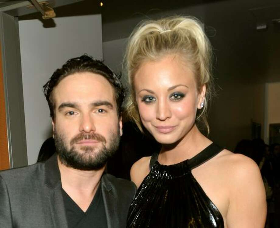 Johnny Galecki and Kaley Cuoco Actor Johnny Galecki and actress Kaley Cuoco from the 'Big Bang Theory' dated for a while. But alas, it wasn't meant to be. Cuoco recently married tennis player Ryan Sweeting. Photo: Getty Images