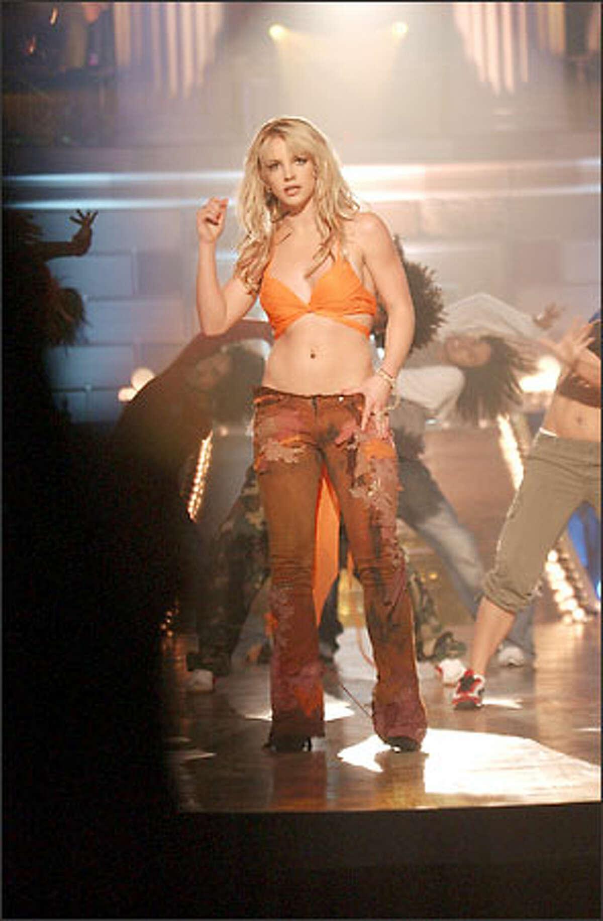 Twenty-one-year-old singing sensation Britney Spears stars in an original primetime special Monday.