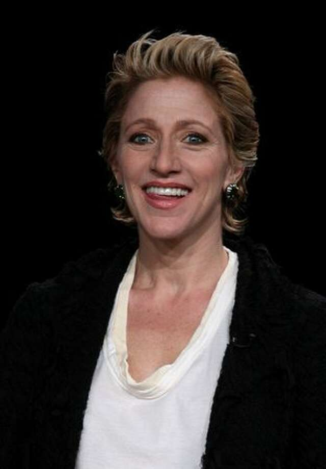 "Actress Edie Falco speaks onstage at the Showtime ""Nurse Jackie"" Q&A portion of the 2010 Winter TCA Tour day 1 at the Langham Hotel on Jan. 9, 2010 in Pasadena, Calif. Photo: Getty Images"