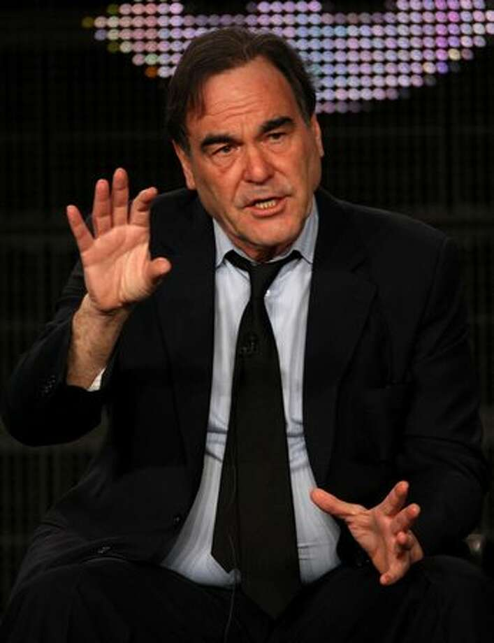 "Oliver Stone. Official movie director. Based on the movie ""JFK."" We know he can make a lot out of not much. Photo: Getty Images"