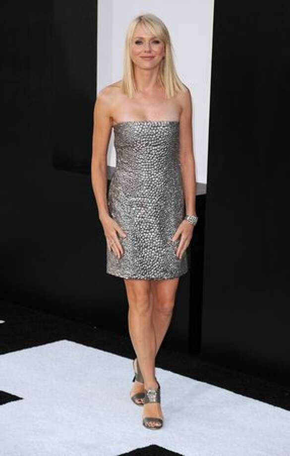 "Actress Naomi Watts arrives at the premiere of ""Salt"" at Grauman's Chinese Theatre in Hollywood, Calif., on Monday. Photo: Getty Images"