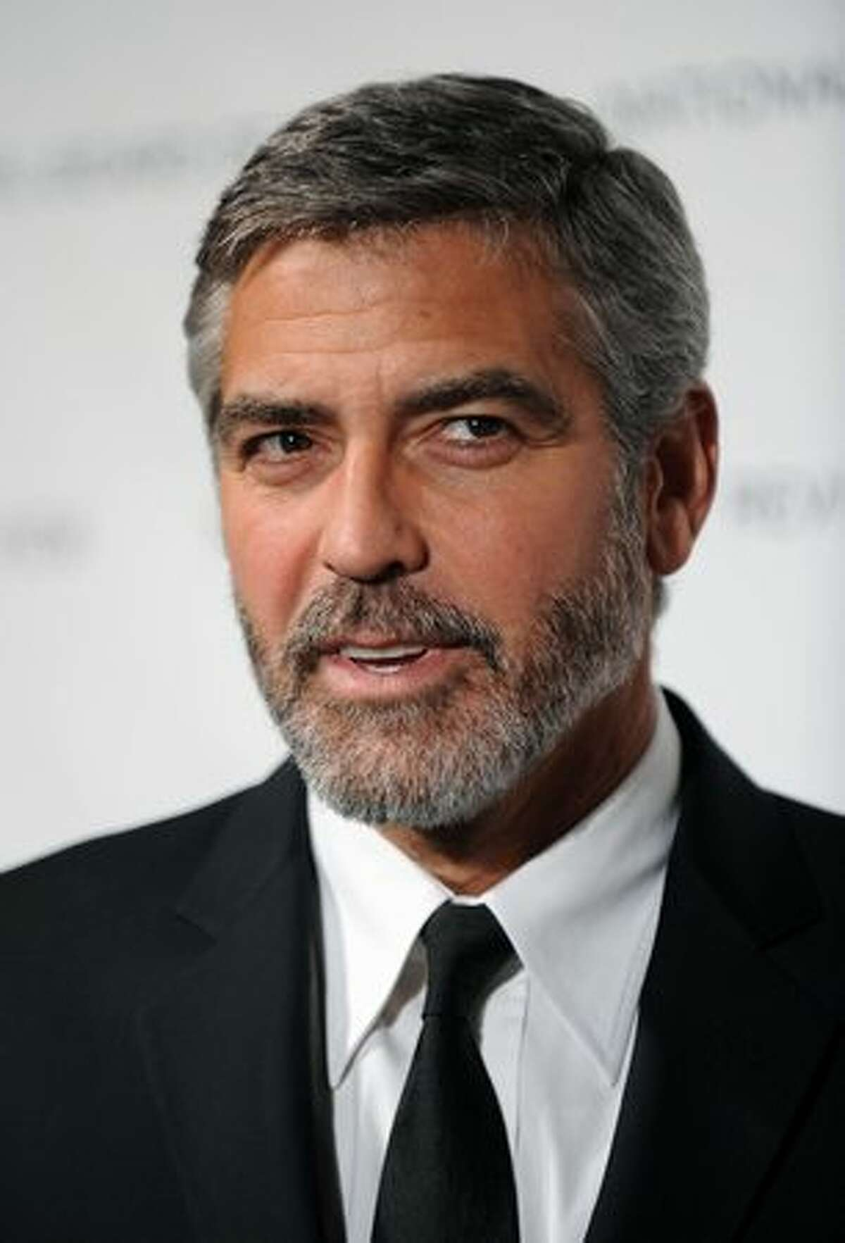 Actor George Clooney attends the National Board of Review of Motion Pictures Awards Gala at Cipriani 42nd Street in New York on Tuesday, Jan. 12, 2010.