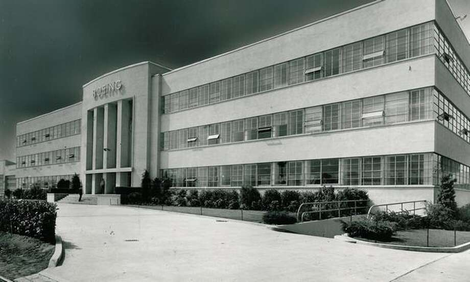 Boeing Aircraft Co. headquarters, 1941. Photo: P-I File