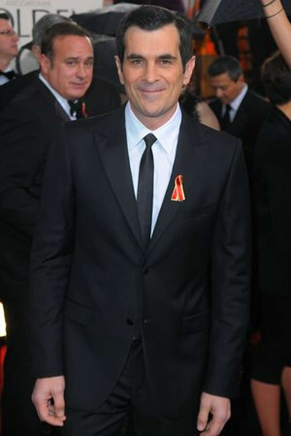 Actor Ty Burrell arrives at the 67th Annual Golden Globe Awards held at The Beverly Hilton Hotel in Beverly Hills, California.