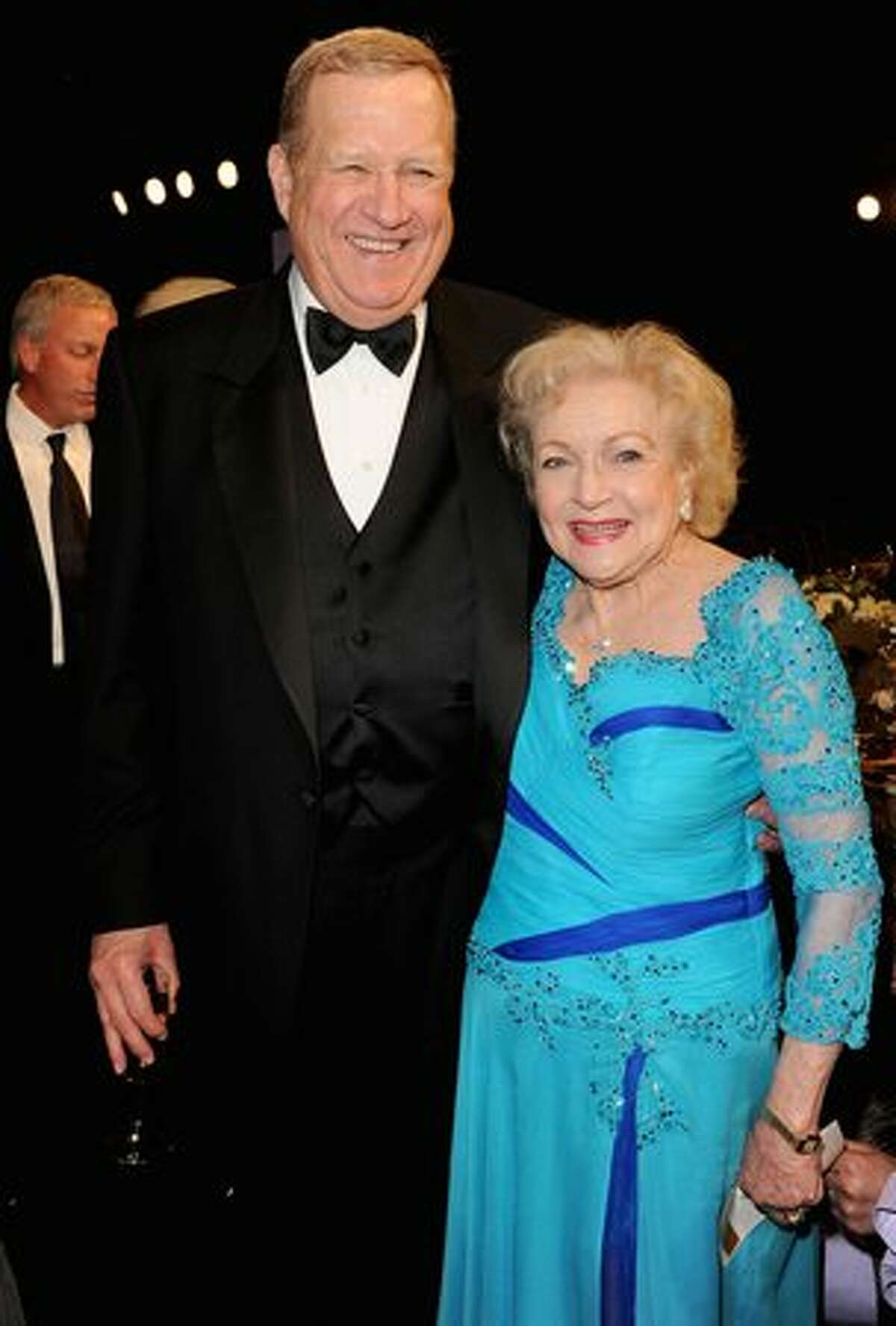 SAG President Ken Howard and Actress Betty White attend.