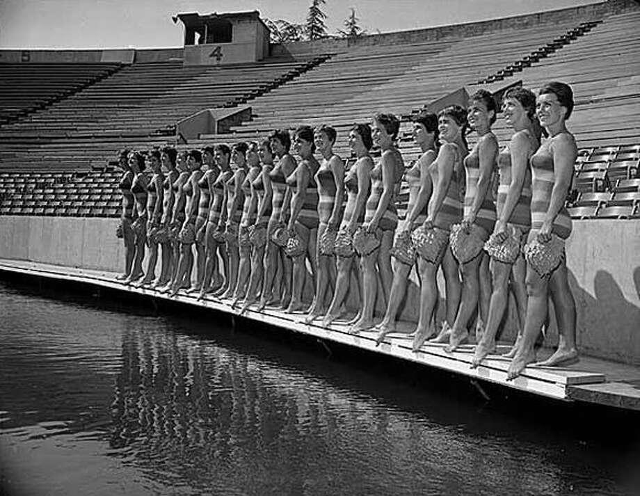 The Aqua Theater Aqua Follies, 1961. (Seattlepi.com file/MOHAI) Photo: P-I File