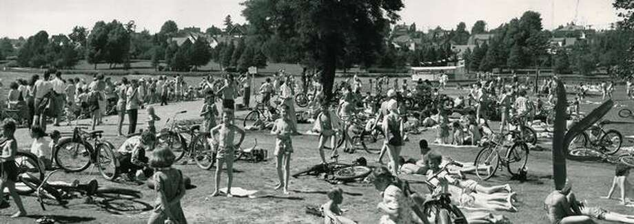 Green Lake, June 30, 1948. Photo: P-I File
