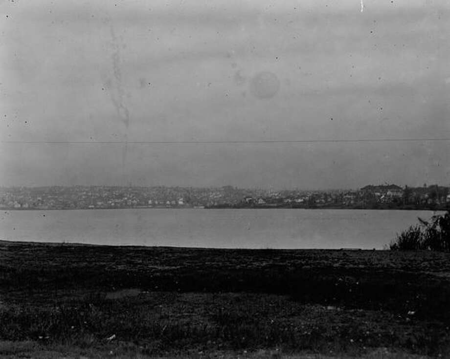 An early P-I photo of Green Lake. Exact date unknown. Photo: P-I File