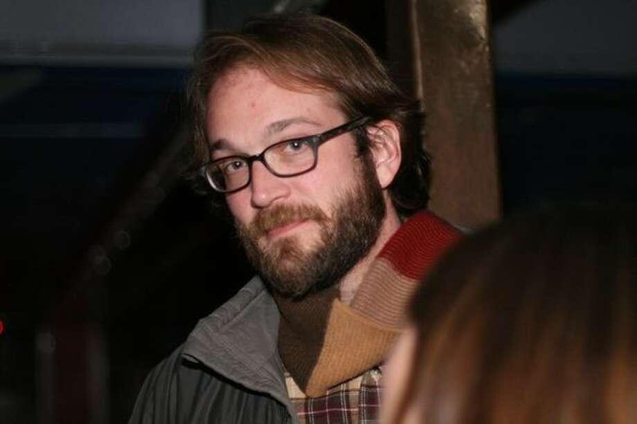 """Steven Schardt, producer of 2009 Sundance hit """"Humpday,"""" attends the Seattle Party. Photo: Mónica Guzmán, Seattlepi.com"""