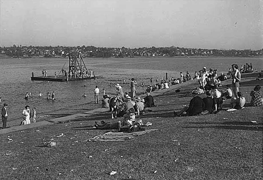 Swimmers at Green Lake, June 1937. (Seattlepi.com file/MOHAI) Photo: P-I File