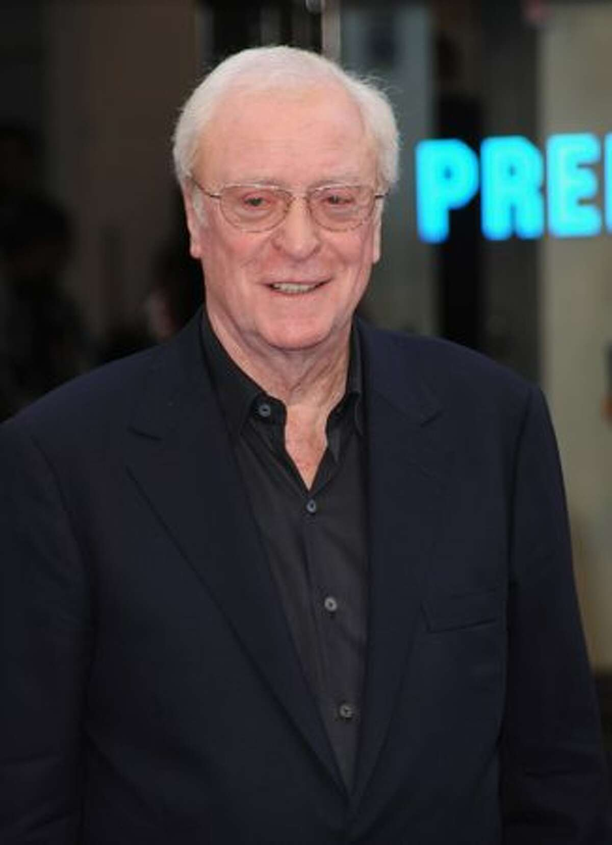 Sir Michael Caine attends the UK film premiere for 'Inception' at the Odeon Leicester Square.