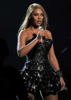 Singer Beyonce Knowles performs onstage. Photo: Getty Images