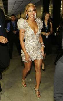 Singer Beyonce Knowles backstage. Photo: Getty Images