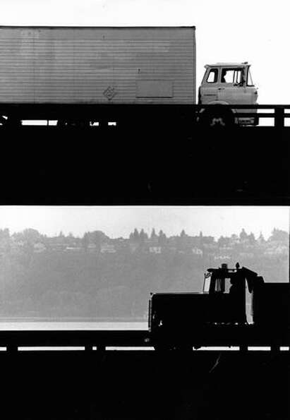 The Alaskan Way Viaduct, Oct. 19, 1989.