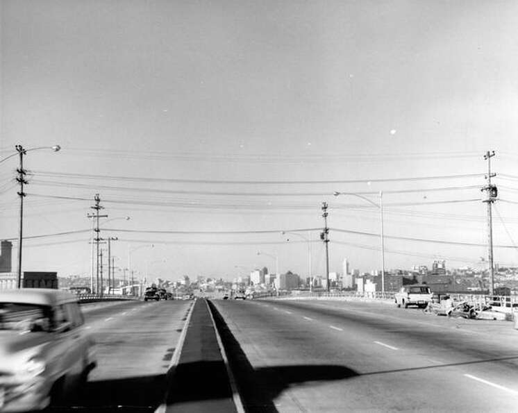 The Alaskan Way Viaduct, Feb. 1, 1960.