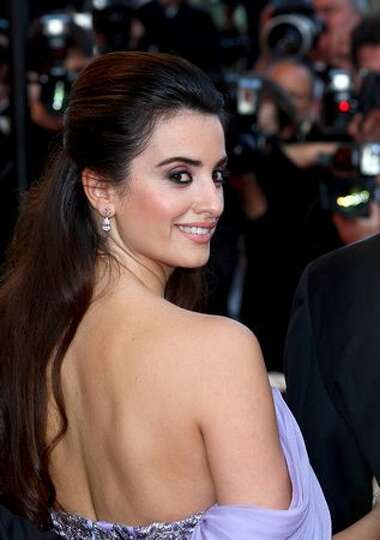 Spanish actress Penelope Cruz leaves after the screening of the movie