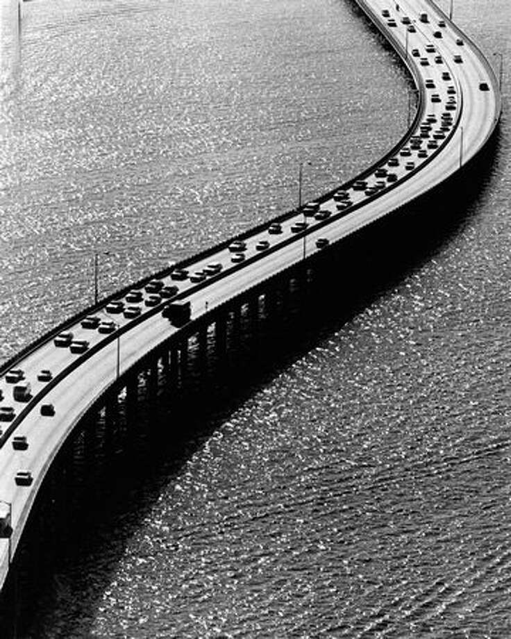 The 520 bridge, May 27, 1976. Photo: P-I File