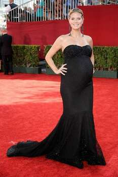 TV personality Heidi Klum arrives at the 61st Primetime Emmy Awards on Sept. 20, 2009 in Los Angeles. Photo: Getty Images