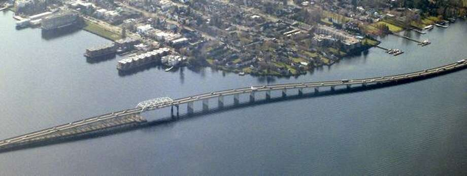 The 520 bridge in February 2008. Photo: P-I File