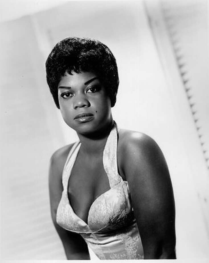 Ernestine Anderson in October 1958. Anderson was a part of Seattle's Jackson Street jazz scene. Photo: P-I File