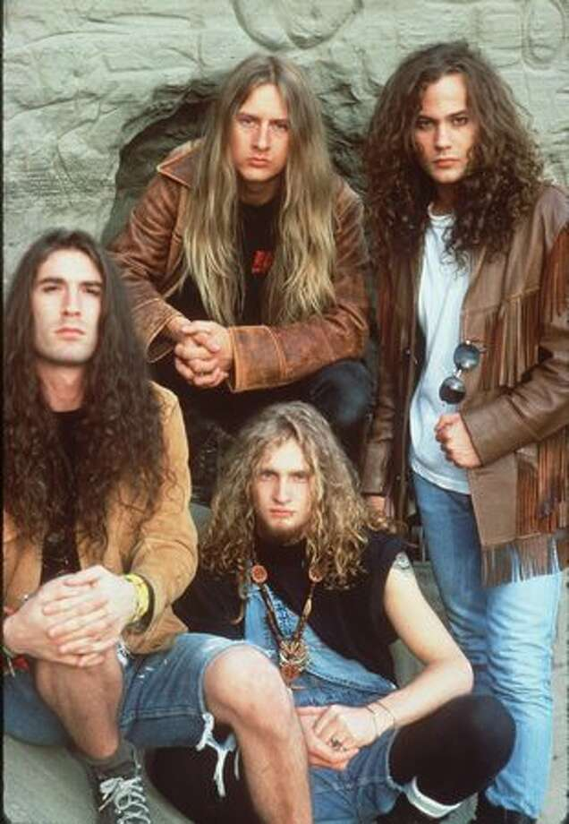 An Alice in Chains publicity photo. Exact date unknown. Photo: P-I File