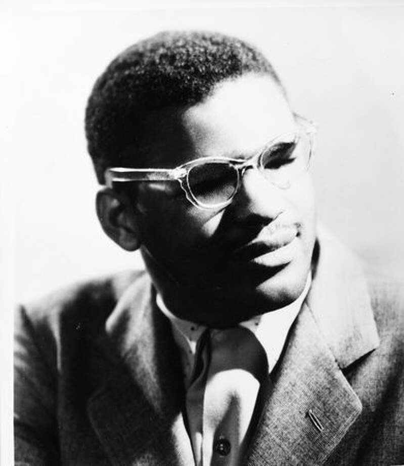 A 1949 portrait of Ray Charles, part of the P-I file courtesy of Experience Music Project. Charles recorded his first record in Seattle. Photo: P-I File