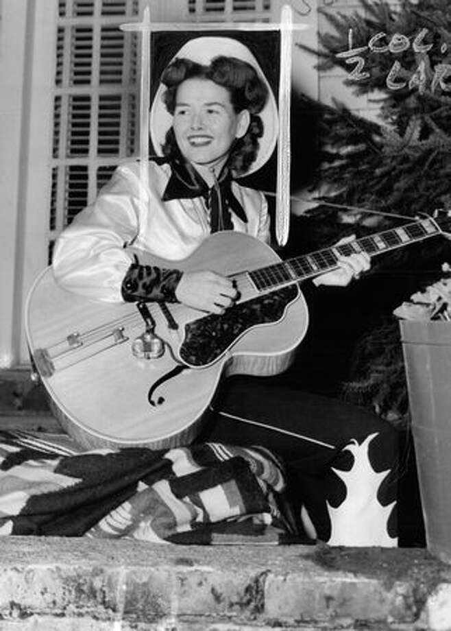 A January 1952 photo of Bonnie Guitar, then known as Bonnie Tutmarc. Read more about her here. Photo: P-I File