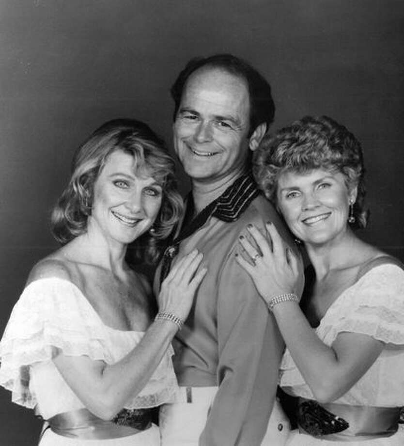 The Fleetwoods, from left, Gretchen Christopher, Gary Troxel and Cheryl Huggins, in a 1980s promotional photo. Photo: P-I File
