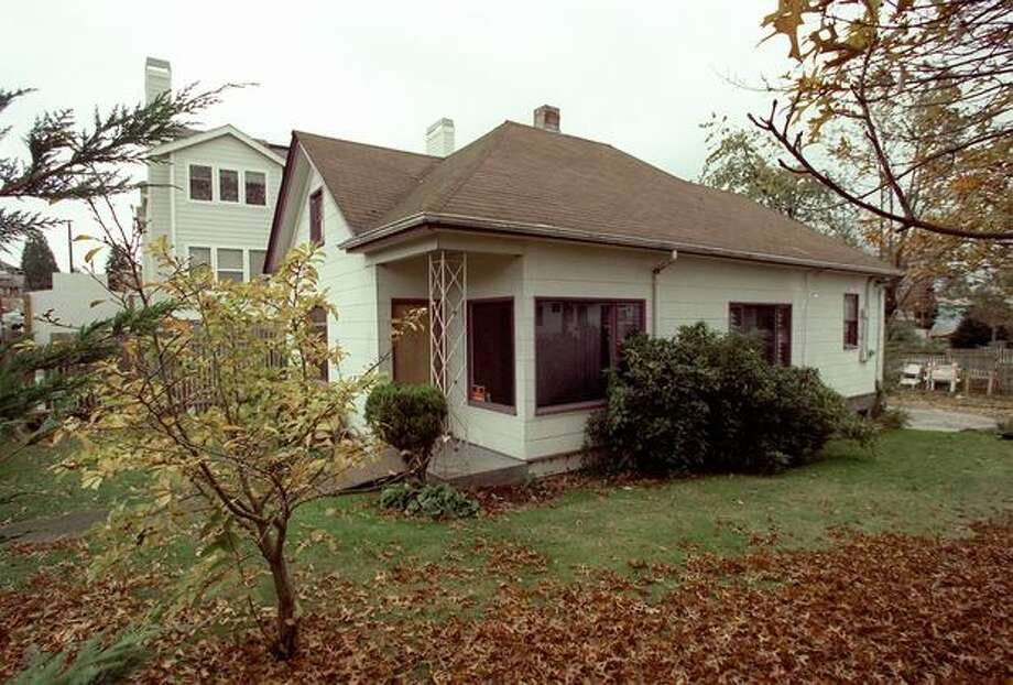 The former Central District home of Jimi Hendrix, which sat in the 2000 block of South Jackson Street. Photo: P-I File