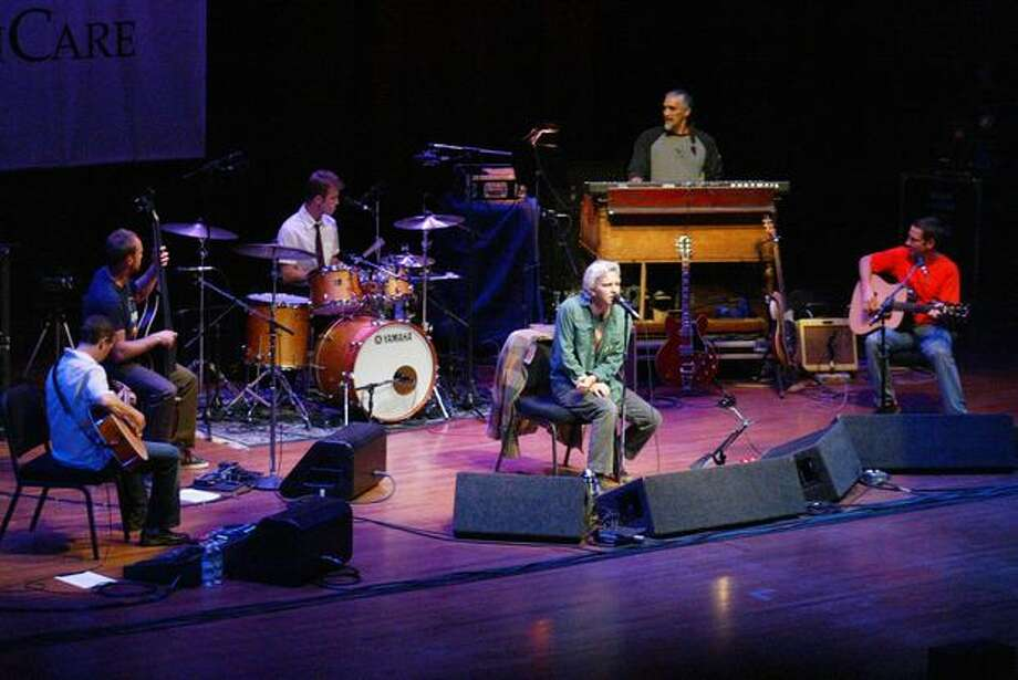 Pearl Jam plays Seattle's Benaroya Hall, October 2003. Photo: P-I File