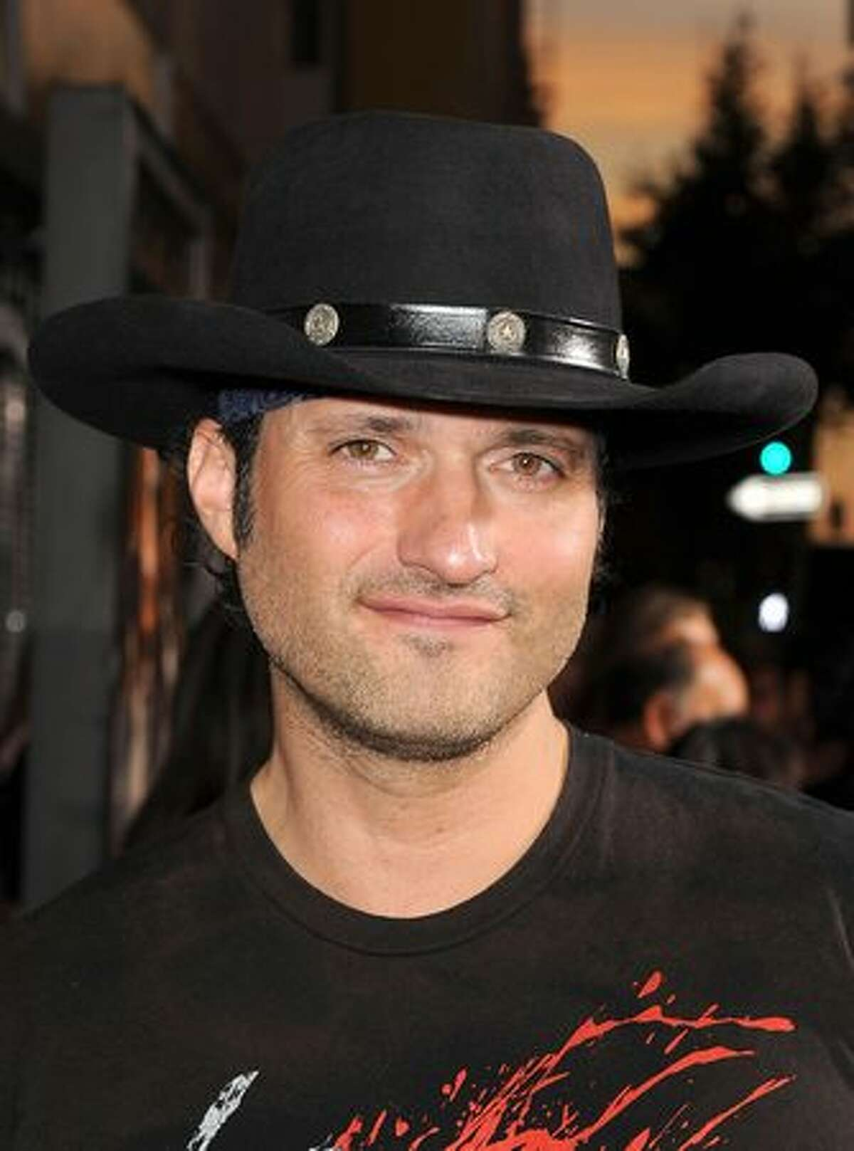 Director Robert Rodriguez arrives at 20th Century Fox's screening of