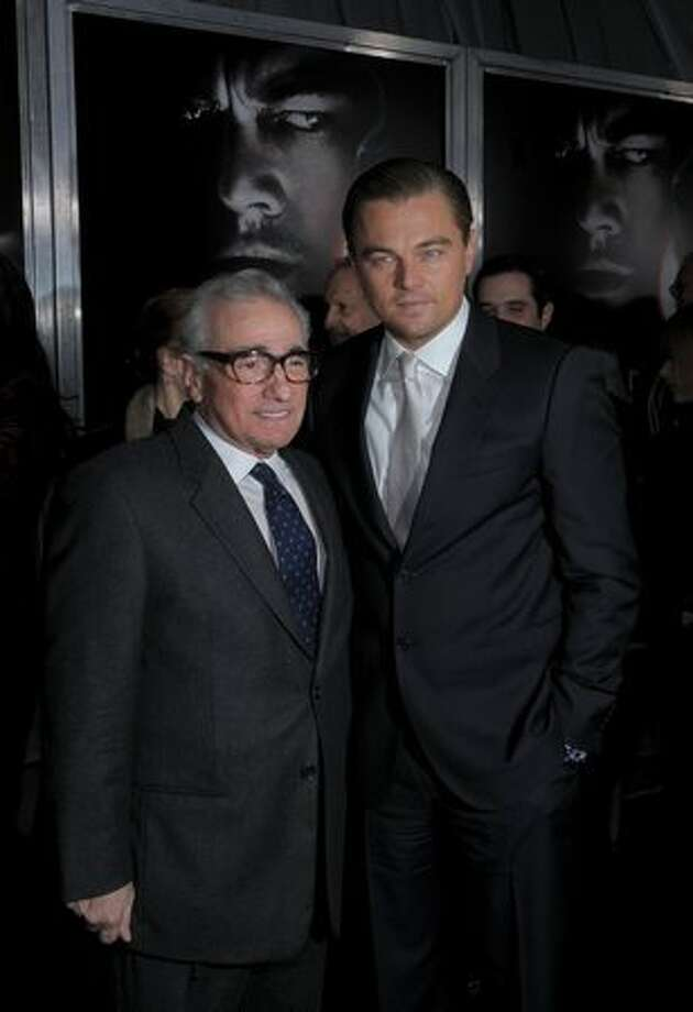 "Director and producer Martin Scorsese and actor Leonardo DiCaprio attend the ""Shutter Island"" special screening at the Ziegfeld Theatre on February 17, 2010 in New York City. Photo: Getty Images"