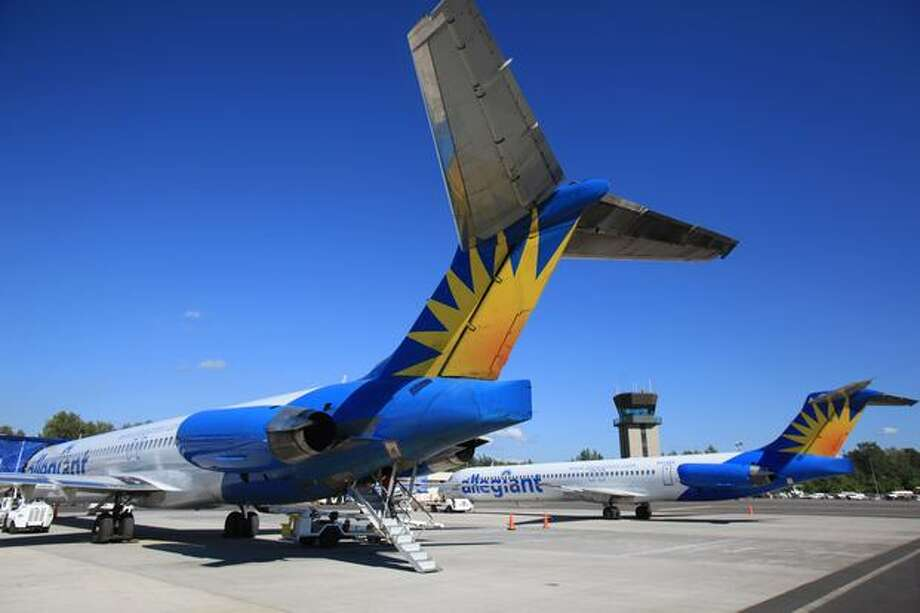 8. Allegiant Air, 3 percent. Allegiant specializes in packages for people going on vacation, which may put people in a better mood. Photo: Joshua Trujillo, Seattlepi.com
