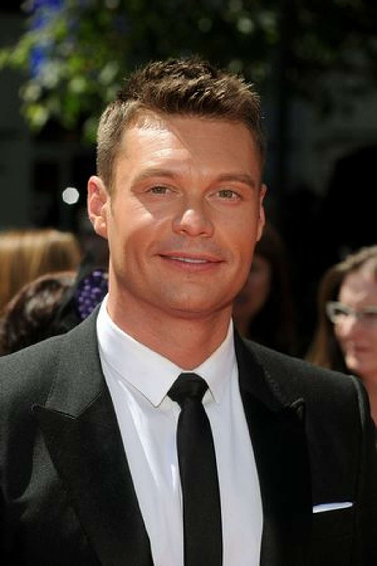 TV personality Ryan Seacrest arrives.