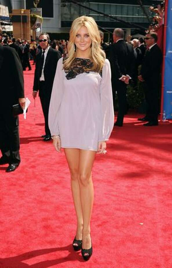 TV personality Stephanie Pratt arrives. Photo: Getty Images