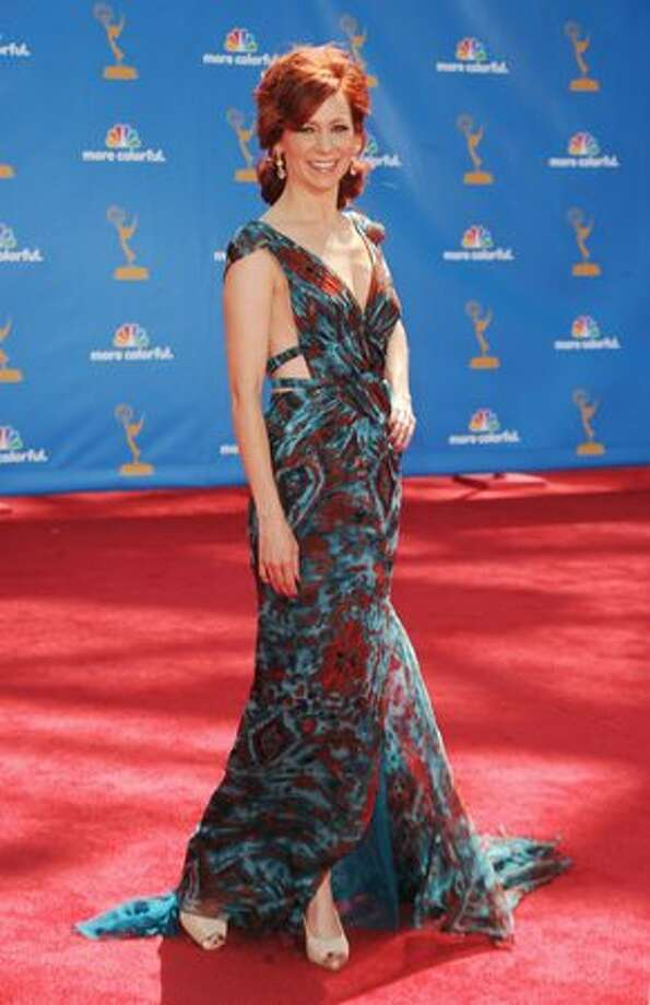 Actress Carrie Preston arrives. Photo: Getty Images