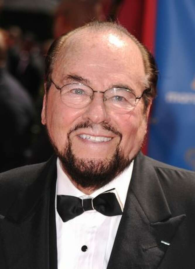 TV host James Lipton arrives. Photo: Getty Images