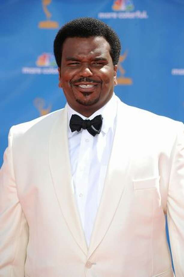 Actor Craig Robinson arrives. Photo: Getty Images