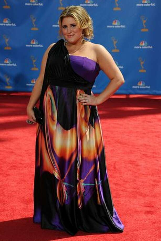 Actress KayCee Stroh arrives. Photo: Getty Images