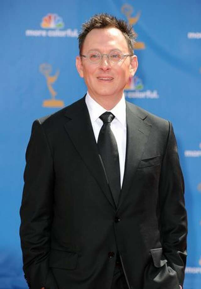 Actor Michael Emerson arrives. Photo: Getty Images