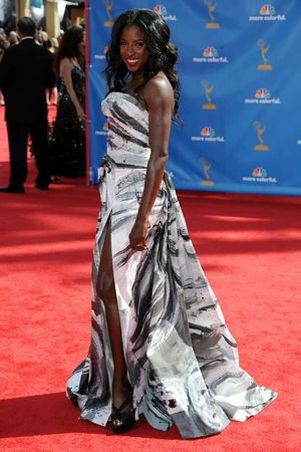 Actress Rutina Wesley arrives. Photo: Getty Images