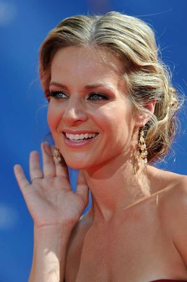 Actress Jessalyn Gilsig arrives. Photo: Getty Images